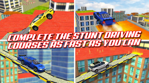 Drive awesome stunt tuned cars!